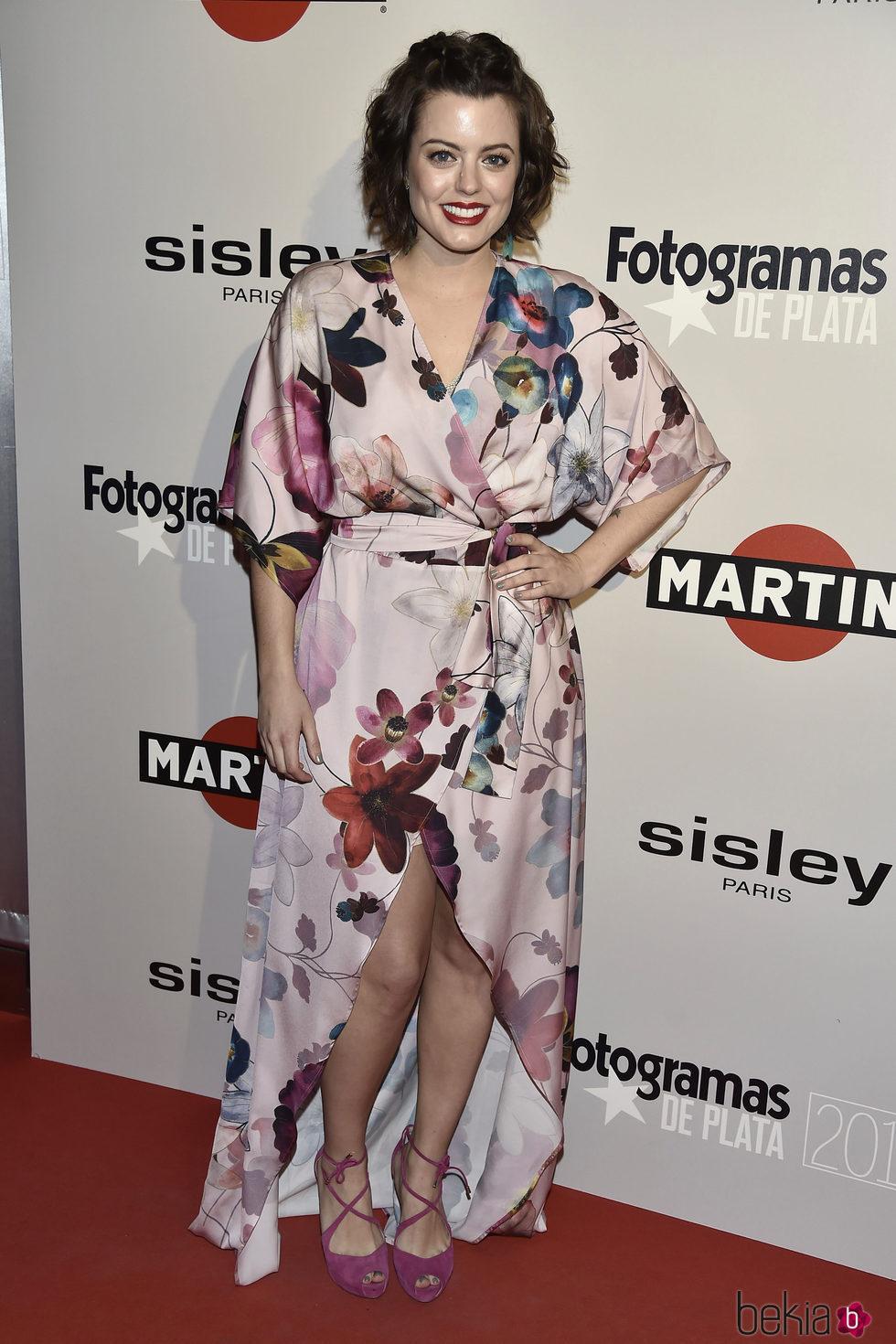 Adriana Torrebejano en la alfombra roja de los Premios Fotogramas de Plata 2016