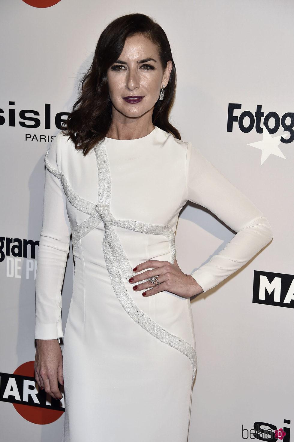 Belén López en la alfombra roja de los Premios Fotogramas de Plata 2016
