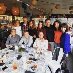 Los actores de 'Gran Reserva' durante un reencuentro