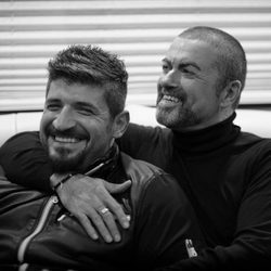 George Michael y su novio Fadi Fawaz