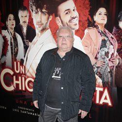 Juanito el Golosina en el estreno de 'Un chico de revista'