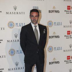 Enrique Ponce en la fiesta de presentación de la Feria de San Isidro 2017