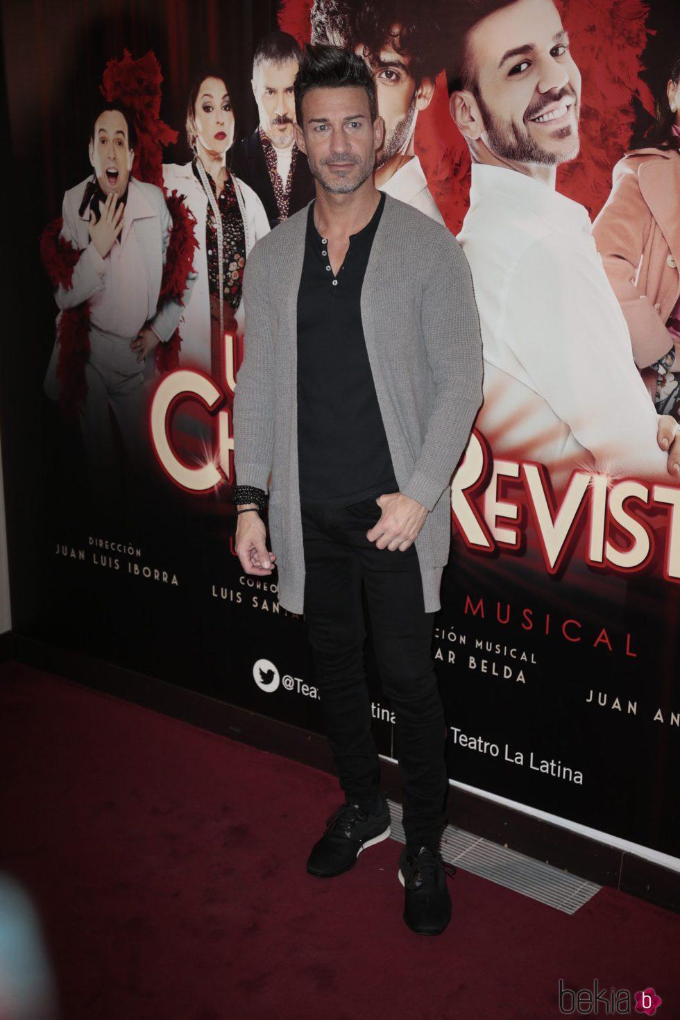 Eduardo Aldán en el estreno de 'Un chico de revista'