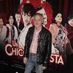 Jordi Rebellón en el estreno de 'Un chico de revista'