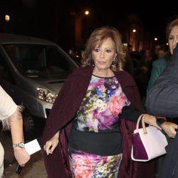 María Teresa Campos en el estreno de 'Un chico de revista'