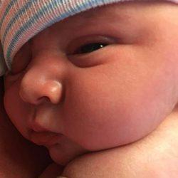 Primera imagen de Augustus Alexis Arquette hijo de David Arquette