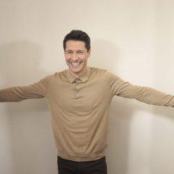 Jaime Cantizano muy feliz en la presentación de 'Jugando con las estrellas'