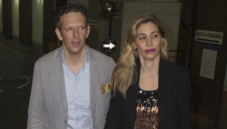 Joaquín Prat y Yolanda Bravo en la fiesta del 44 cumpleaños de Vicky Martín Berrocal