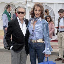 Jaime Ostos y María Ángeles Grajal en un festejo taurino en Illescas