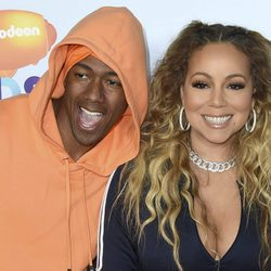 Nick Cannon y Mariah Carey en los Nickelodeon Kids' Choice Awards 2017
