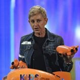 Ellen DeGeneres en los Nickelodeon Kids' Choice Awards 2017
