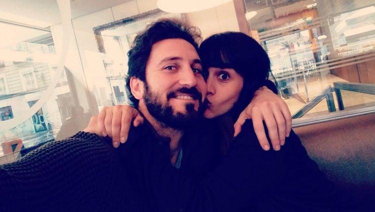 Megan Montaner y Álex Gadea, actores de 'El secreto de Puente Viejo', se reencuentran
