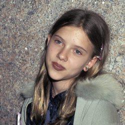 Scarlett Johansson en el año 1996