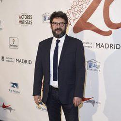 Manolo Solo en la red carpet de la XXVI edición de los Premios de la Unión de Actores