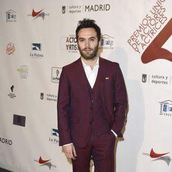 Ricardo Gómez en la red carpet de la XXVI edición de los Premios de la Unión de Actores