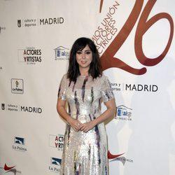 Carmen Ruiz en la red carpet de la XXVI edición de los Premios de la Unión de Actores