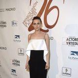 Aura Garrido en la red carpet de la XXVI edición de los Premios de la Unión de Actores