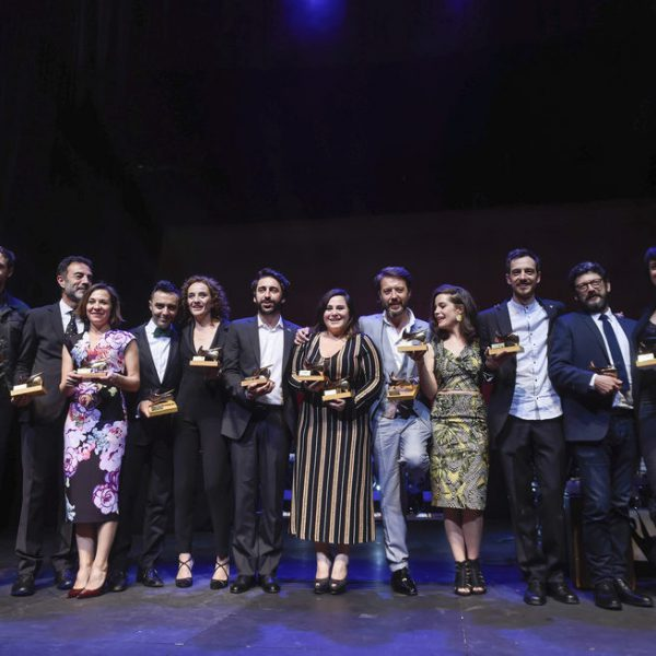 Galardonados en la XXVI edición de los Premios de la Unión de Actores