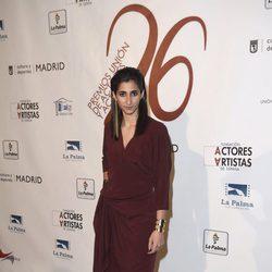 Alba Flores en la red carpet de la XXVI edición de los Premios de la Unión de Actores