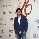 Javier Pereira en la red carpet de la XXVI edición de los Premios de la Unión de Actores