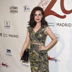 Nuria Gago en la red carpet de la XXVI edición de los Premios de la Unión de Actores