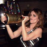 Mónica Cruz pasándoselo pipa en su fiesta de su 40 cumpleaños
