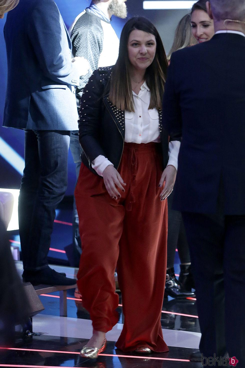 Lucía Matamoros en una gala de 'Gran Hermano VIP'