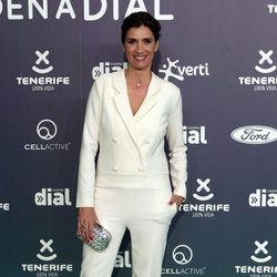 Elia Galera en la alfombra roja de los Premios Cadena Dial 2017