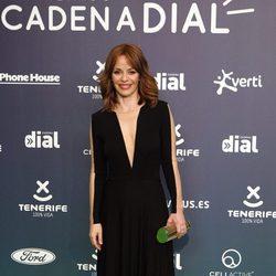 María Adánez en la alfombra roja de los Premios Cadena Dial 2017
