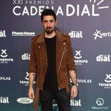 Álex Ubago en la alfombra roja de los Premios Cadena Dial 2017