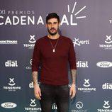 Melendi en la alfombra roja de los Premios Cadena Dial 2017