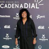 Rosana en la alfombra roja de los Premios Cadena Dial 2017