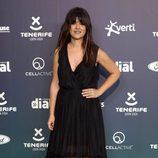 Vanessa Martí en la alfombra roja de los Premios Cadena Dial 2017
