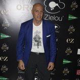 Kiko Matamoros en la fiesta de presentación de la marca de ginebra de Álex Lequio