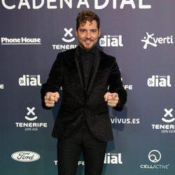 David Bisbal en la alfombra roja de los Premios Cadena Dial 2017