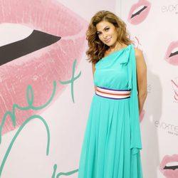 Eva Mendes en la inauguración de la tienda Nueva York & Company