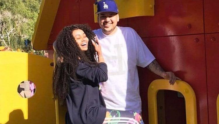 Blac Chyna felicita a Rob Kardashian por su cumpleaños con esta fotografía