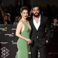 Blanca Suárez y Mario Casas en la inauguración del Festival de Cine de Málaga 2017