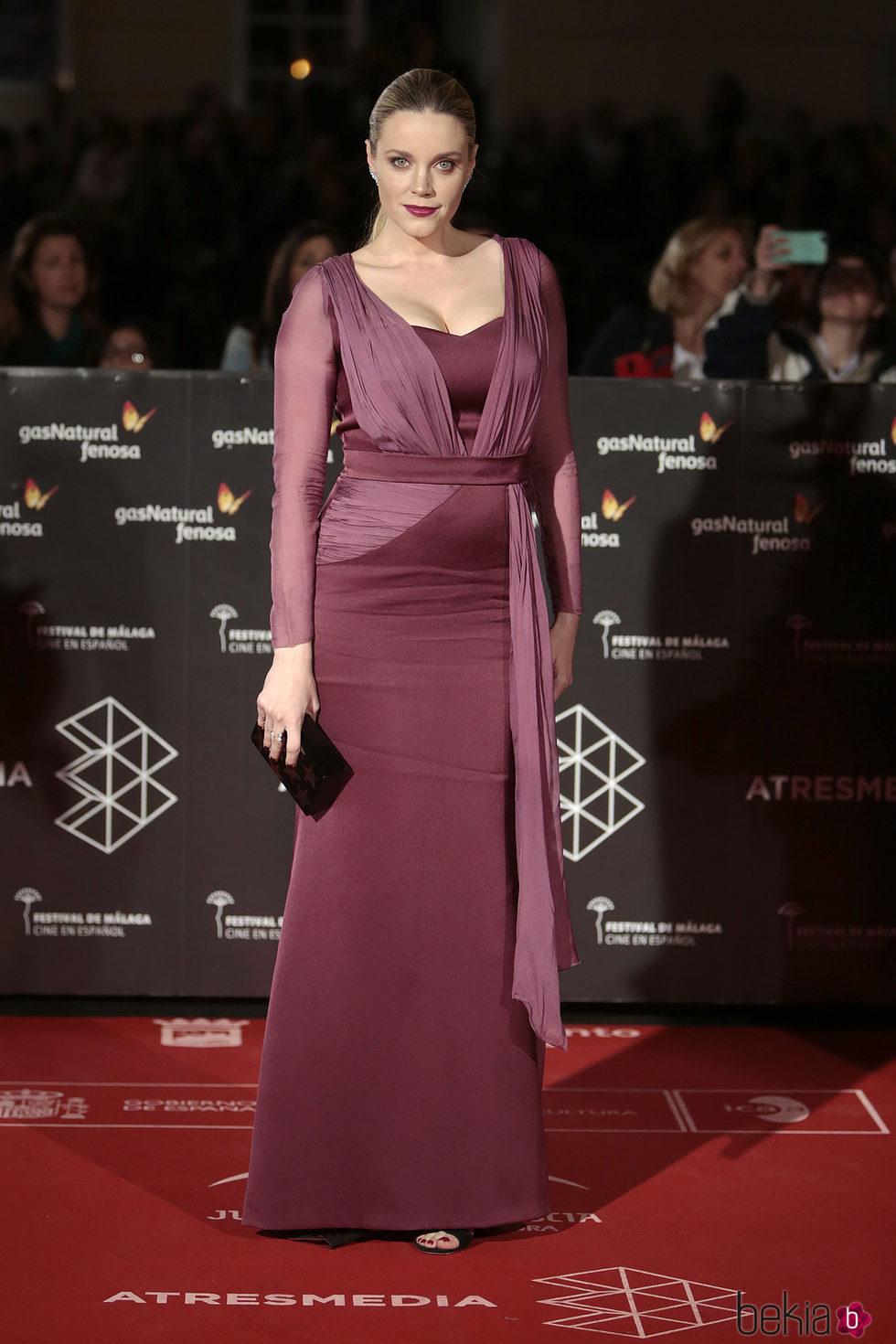Carolina Bang en la inauguración del Festival de Cine de Málaga 2017