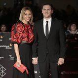 Albert Rivera y Beatriz Tajuelo en la inauguración del Festival de Cine de Málaga 2017