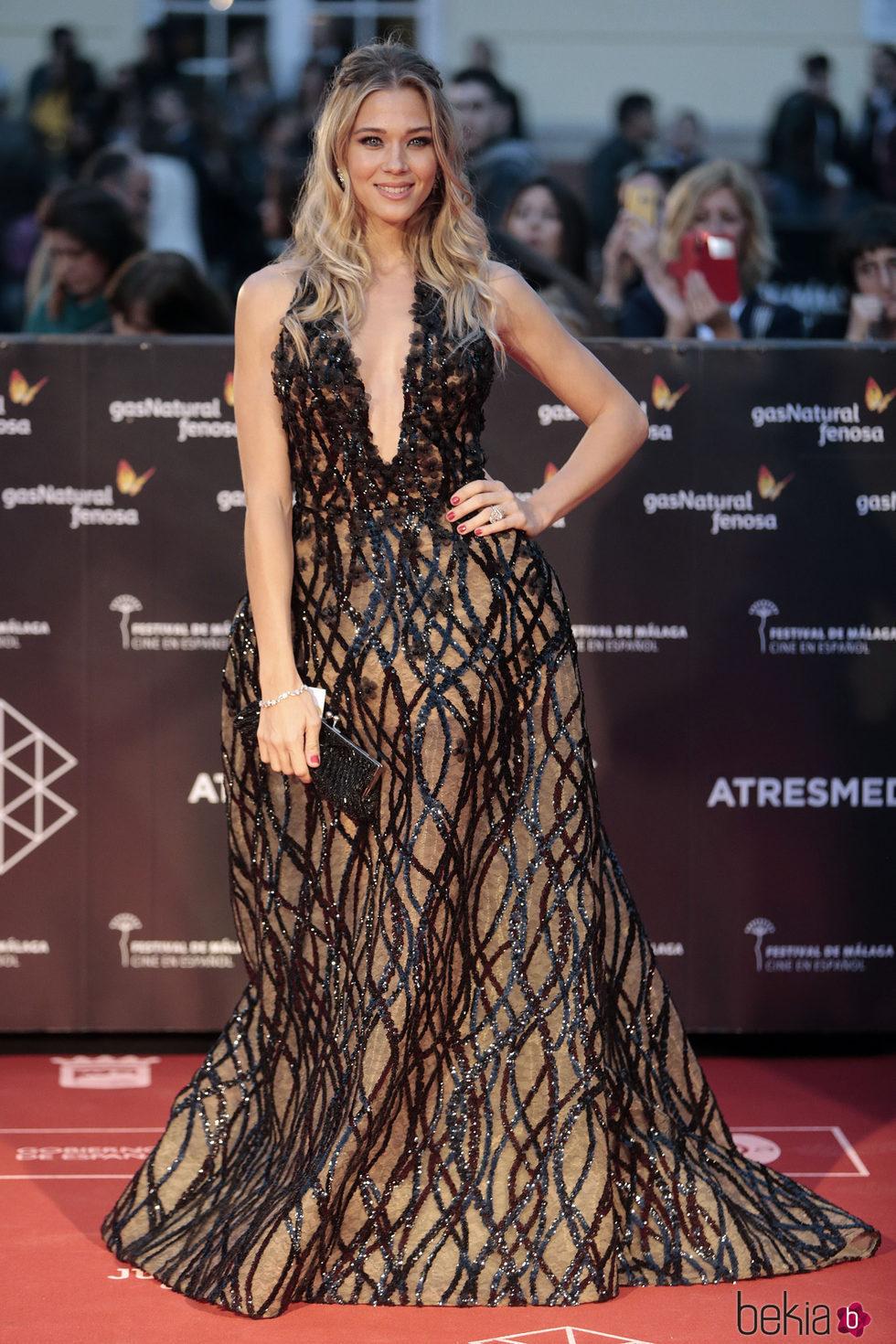 Patricia Montero en la inauguración del Festival de Cine de Málaga 2017