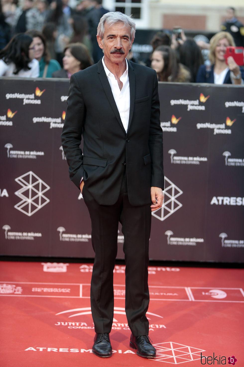 Imanol Arias en la inauguración del Festival de Cine de Málaga 2017