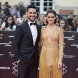 Fran Perea y Manuela Vellés en la inauguración del Festival de Cine de Málaga 2017