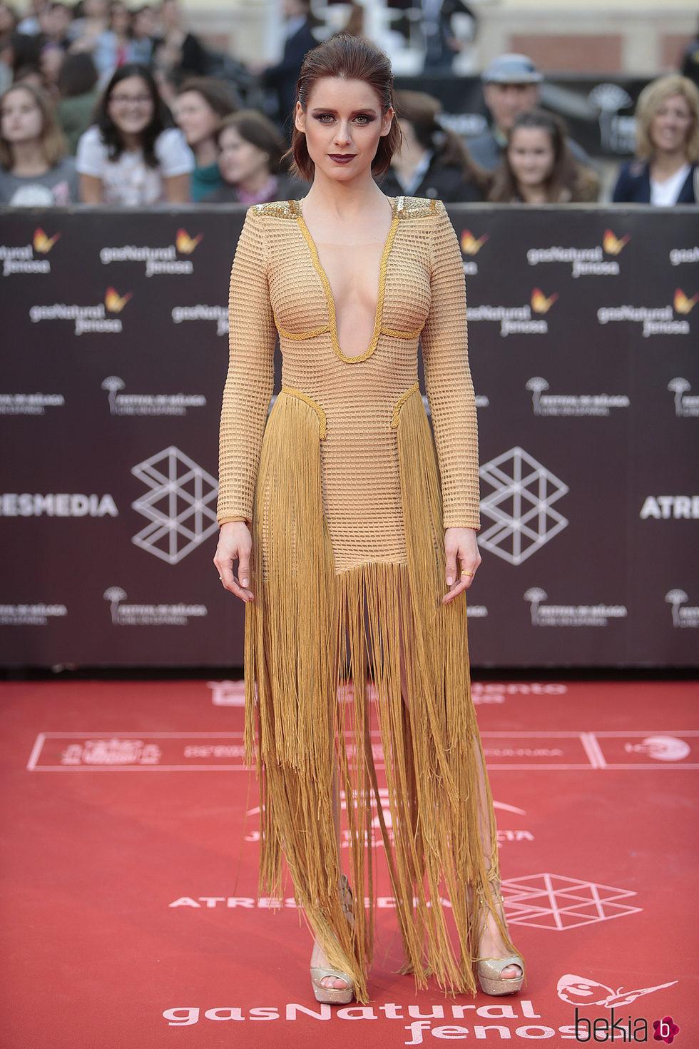 Manuela Vellés en la inauguración del Festival de Cine de Málaga 2017
