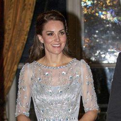 Kate Middleton en la cena en la embajada inglesa en París