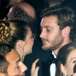 Beatrice Borromeo y Pierre Casiraghi, muy cariñosos en el Baile de la Rosa
