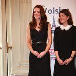 Kate Middleton durante su visita a París