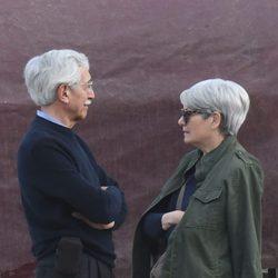 Los padres de Blanca Suárez en Málaga