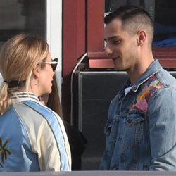 Blanca Suárez y Joel Bosqued se dedican una tierna mirada en Málaga