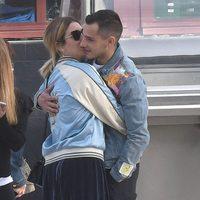 Blanca Suárez besa a Joel Bosqued en Málaga